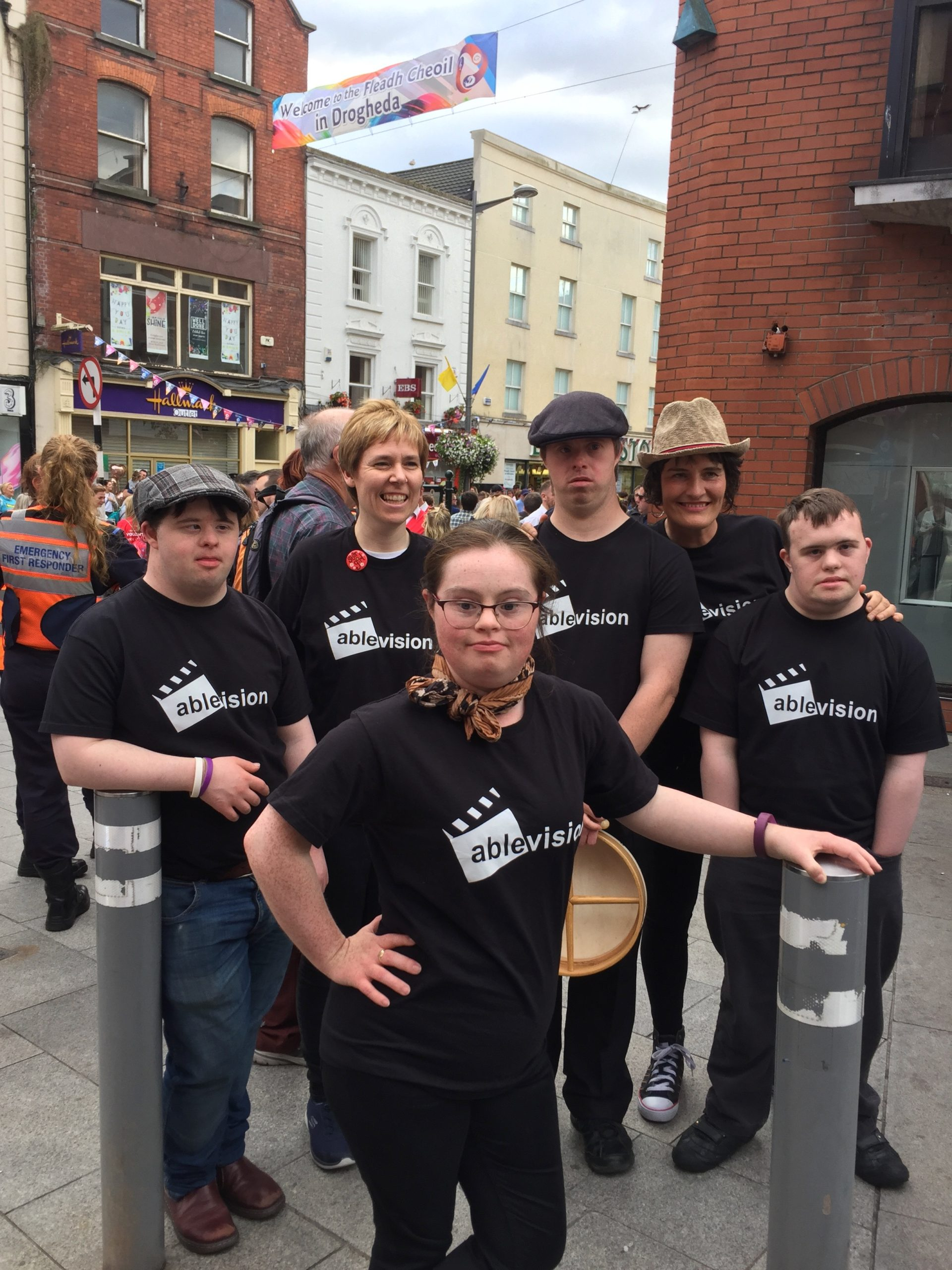 Ablevision Fleadh Crew 2019